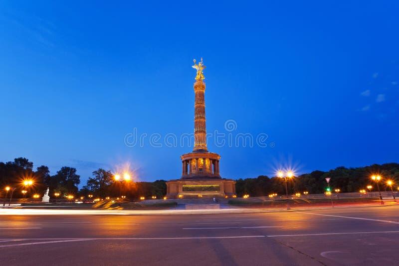 Berlin Victory Column photo stock