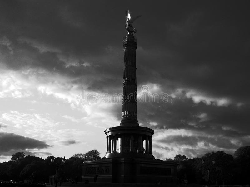 Berlin Victory Column royalty-vrije stock fotografie