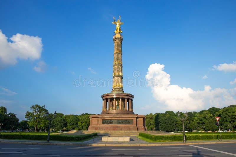 Berlin Victory Column. Berlin, Germany stock photos