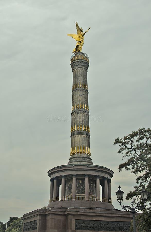 Berlin Victory-kolom, Duitsland royalty-vrije stock afbeelding