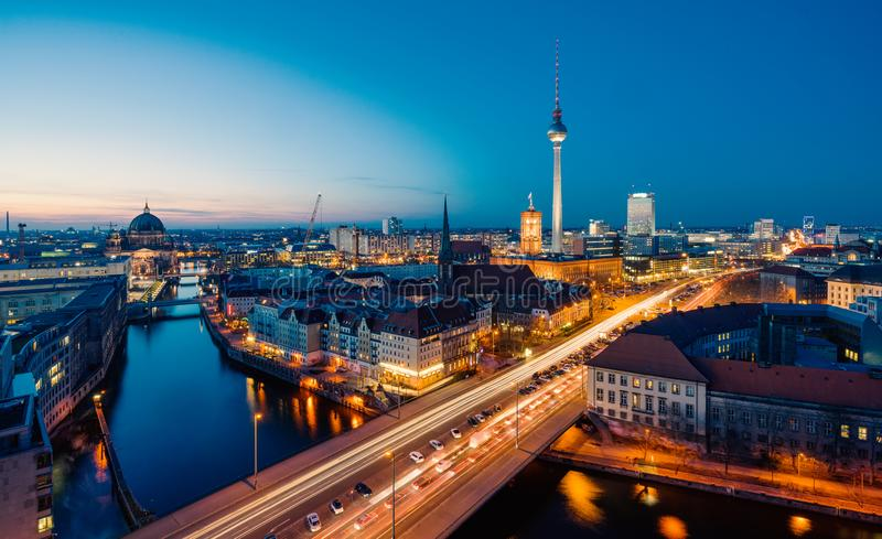 Berlin View royalty free stock photos