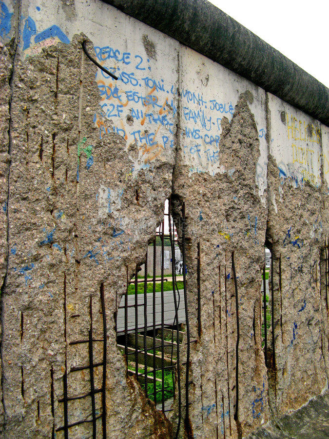 Berlin Wall 05 stock images