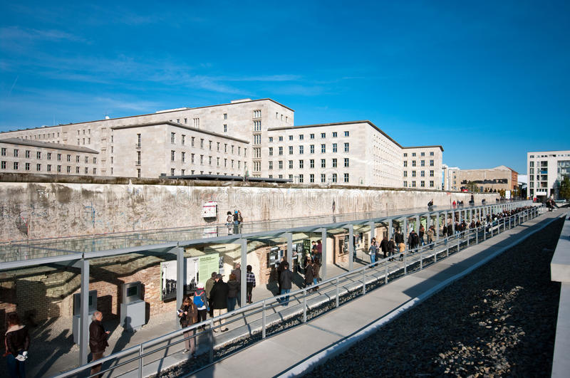 Berlin, The Wall royalty free stock images