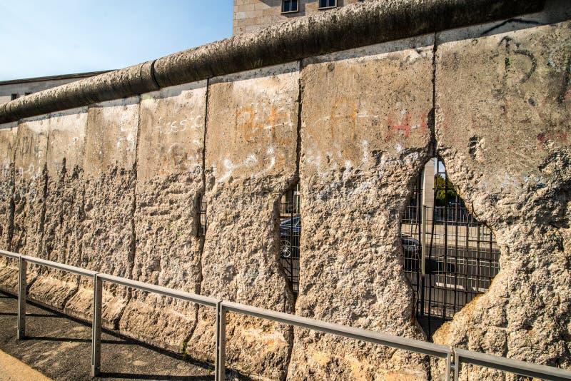 Berlin Wall fotografia stock libera da diritti