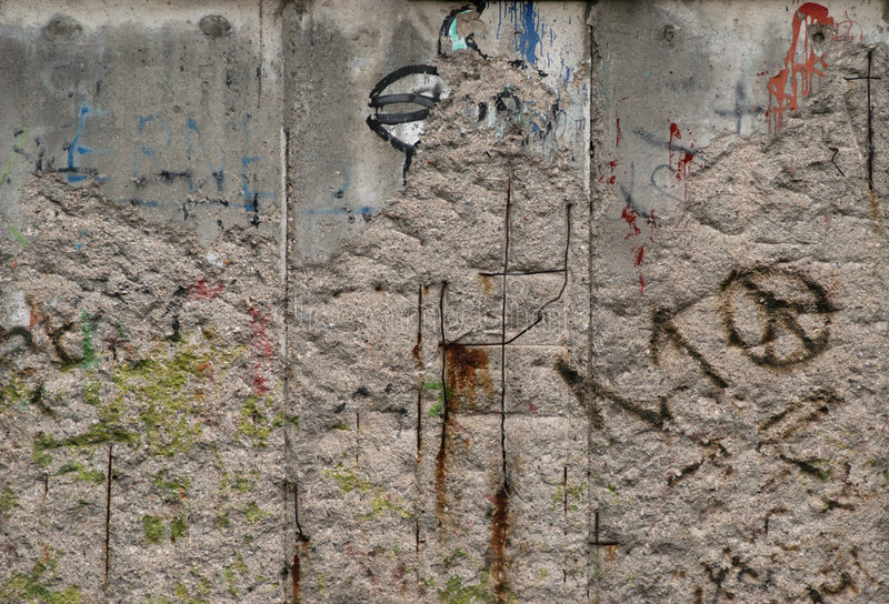 berlin wall obrazy royalty free