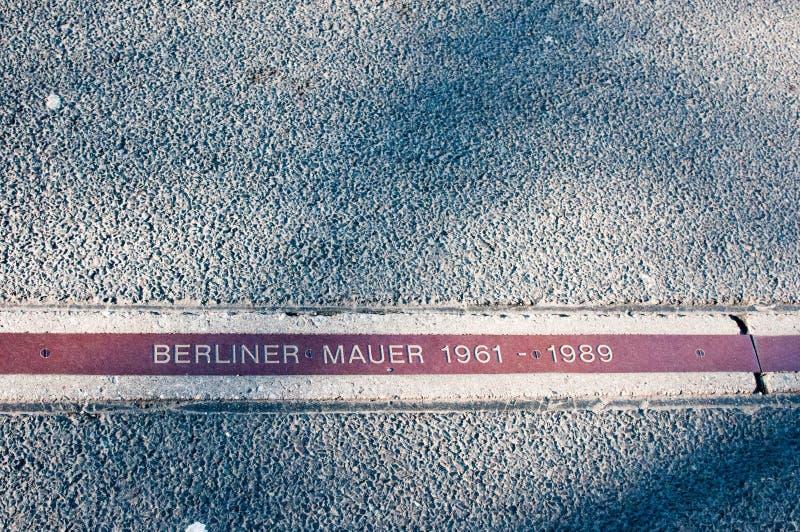 Berlin Wall, Berlijn, Duitsland royalty-vrije stock foto's