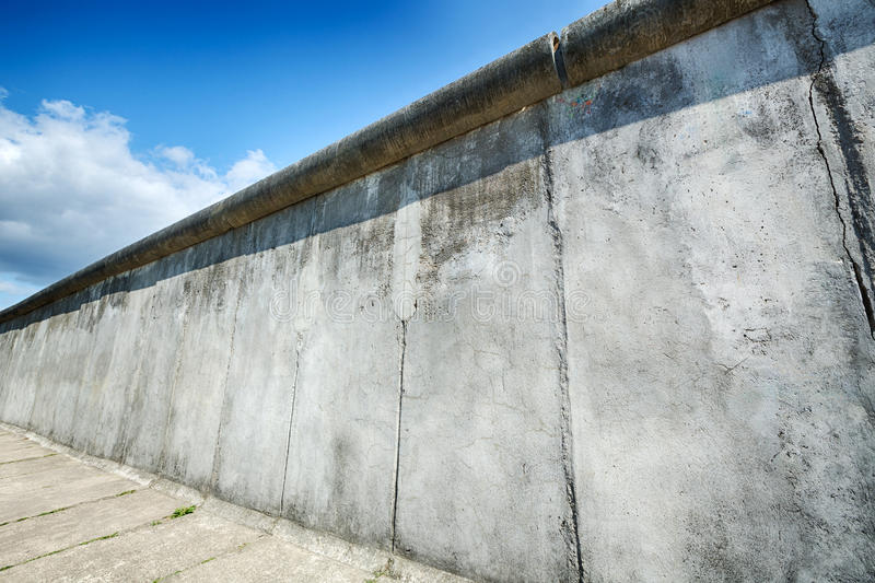 The Berlin Wall at Bernauer Strasse royalty free stock image