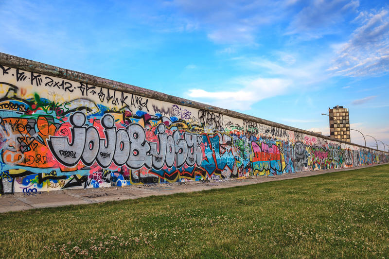 Berlin Wall - Germany stock images
