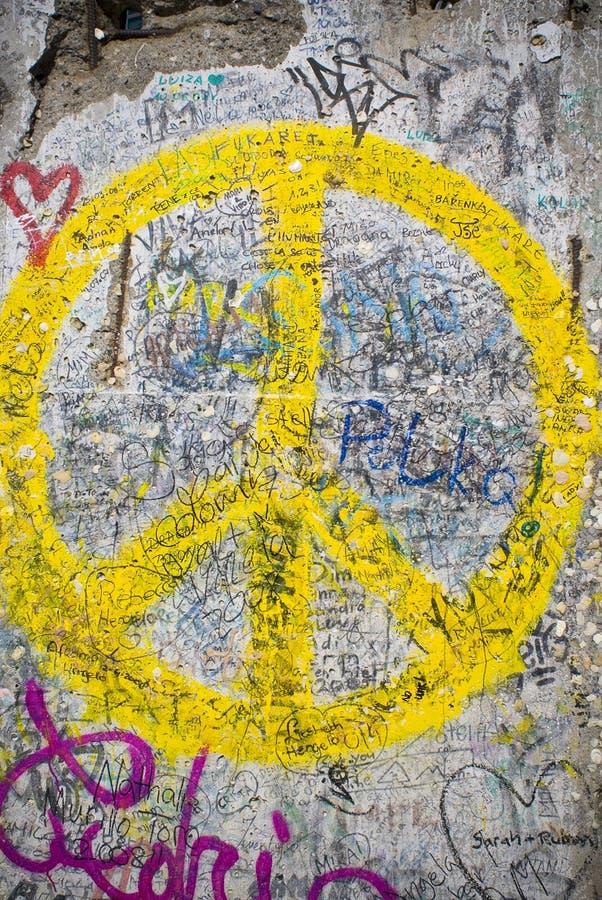 Berlin Wall, Germania fotografie stock libere da diritti