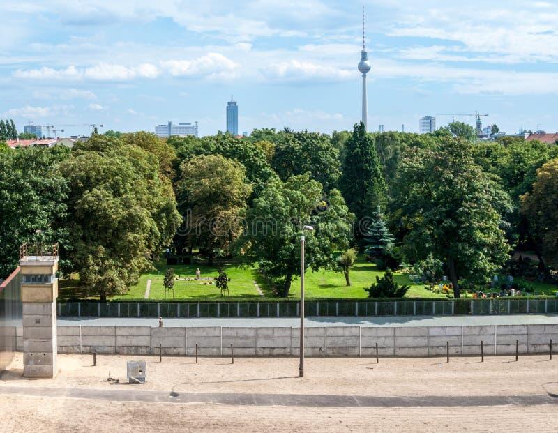 Berlin Wall Memorial fotografie stock libere da diritti