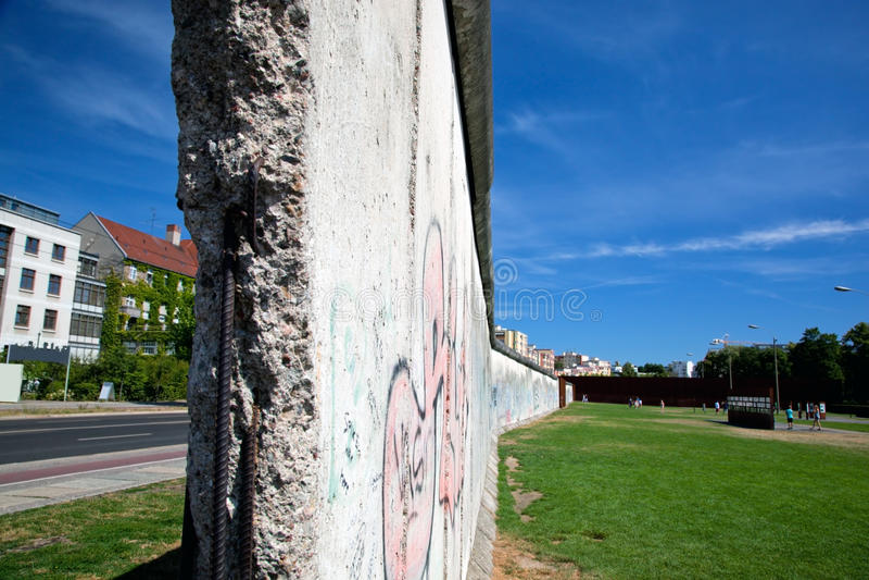 Download Berlin Wall Memorial With Graffiti. Royalty Free Stock Image - Image: 33221156