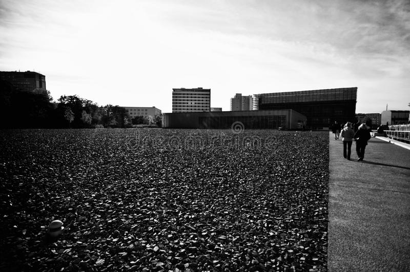 Berlin, The Wall square royalty free stock photo