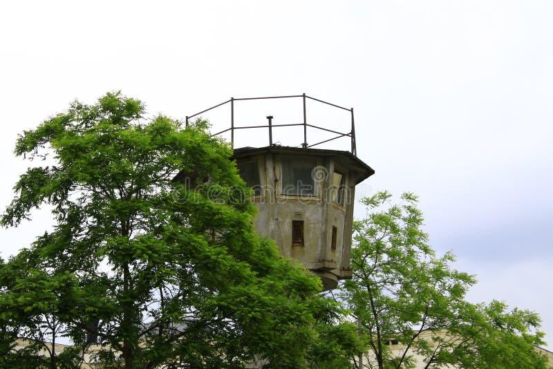 Berlin Wall Watchtowers royalty-vrije stock foto