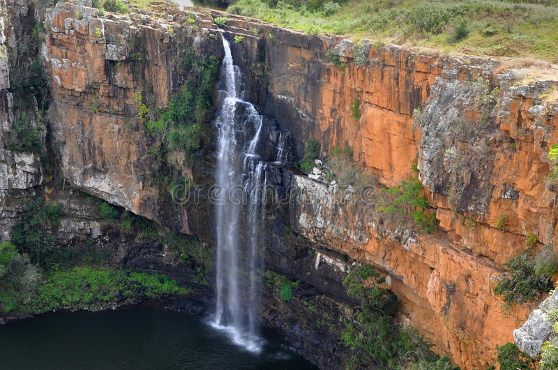 Berlin waterfall in South Africa stock photo