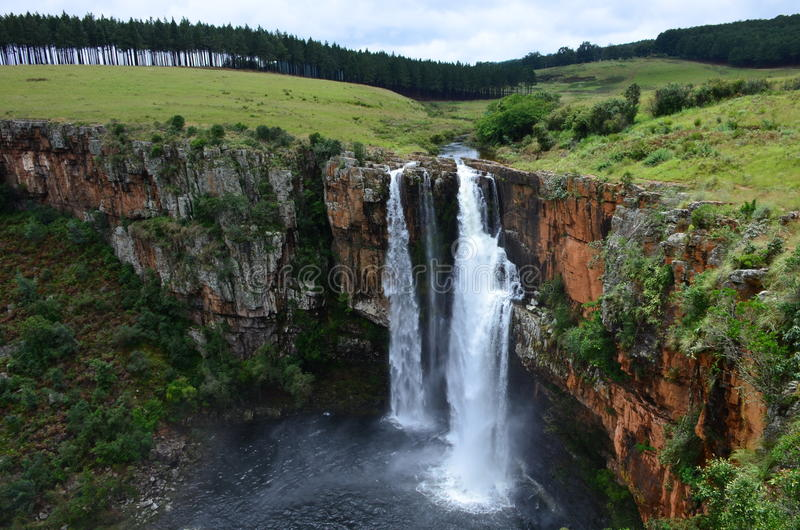 Berlin Waterfalls imagem de stock royalty free