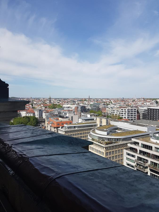 berlin widok zdjęcie stock