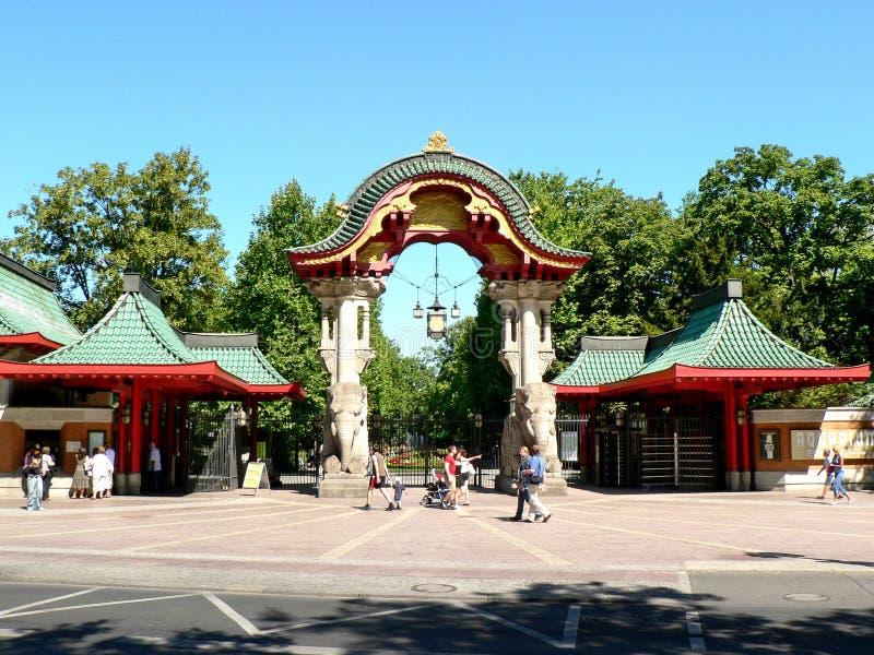 berlin zoo zdjęcie royalty free