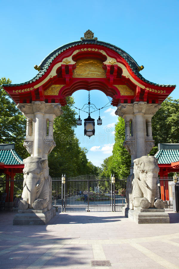 Download Berlin Zoo Gate Stock Photography - Image: 26485902