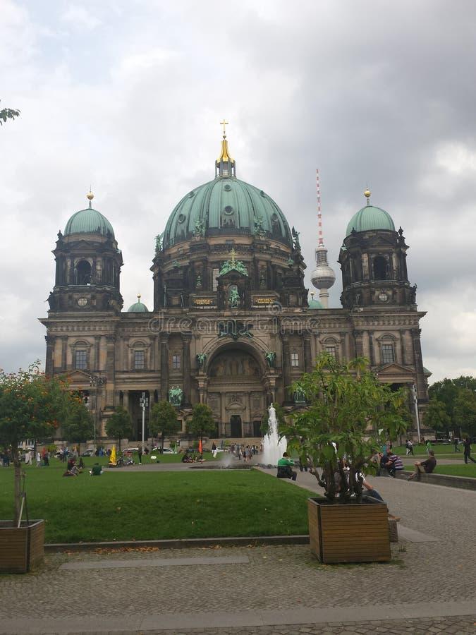 Berliner dom stock foto