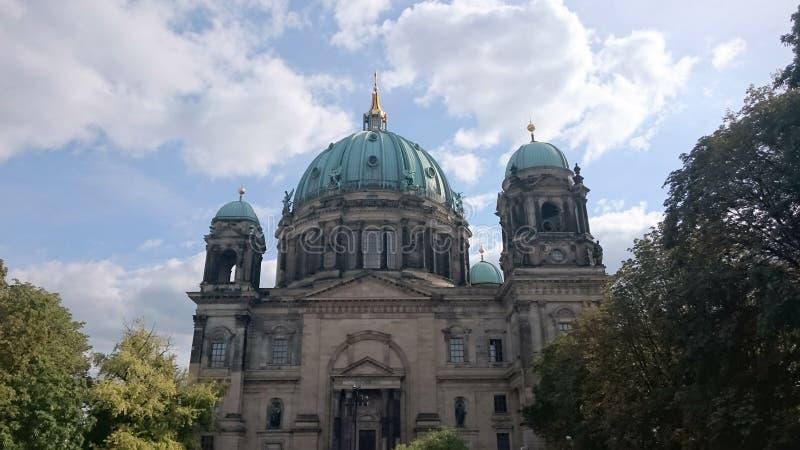 Berliner Dom, Berlijn royalty-vrije stock afbeelding