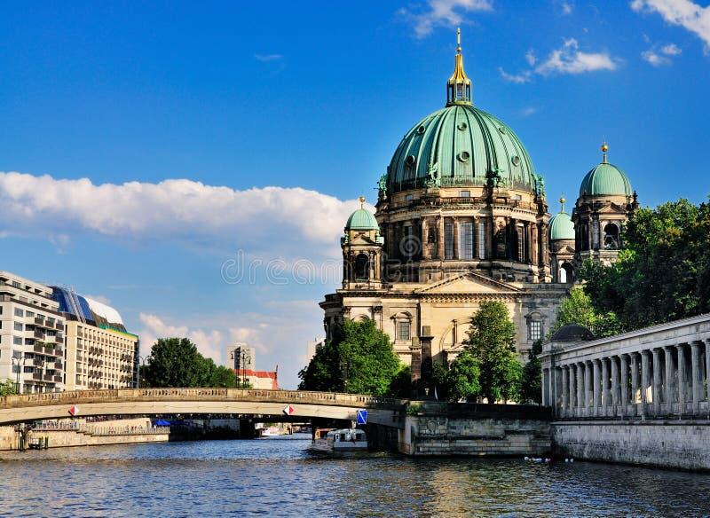 Berliner Dom, Duitsland stock fotografie