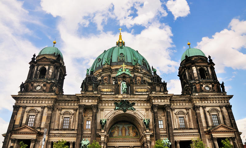 Download Berliner Dom, Germany stock image. Image of arches, berliner - 20929773