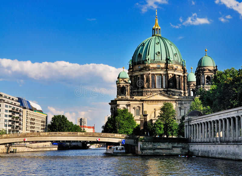 Berliner Dom, Germany Stock Photography