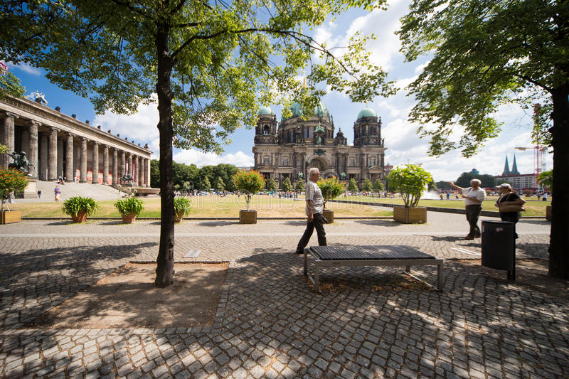 Berliner Dom And Old Museum Editorial Stock Photo