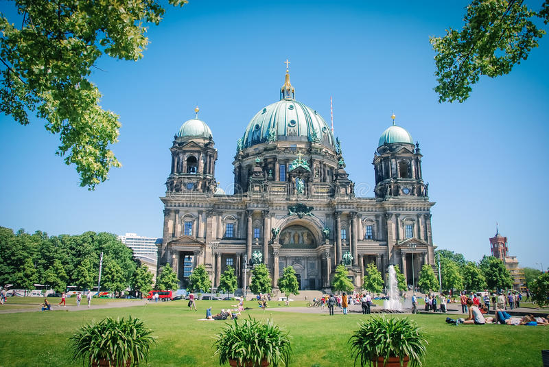 The Berliner Dome. royalty free stock photo