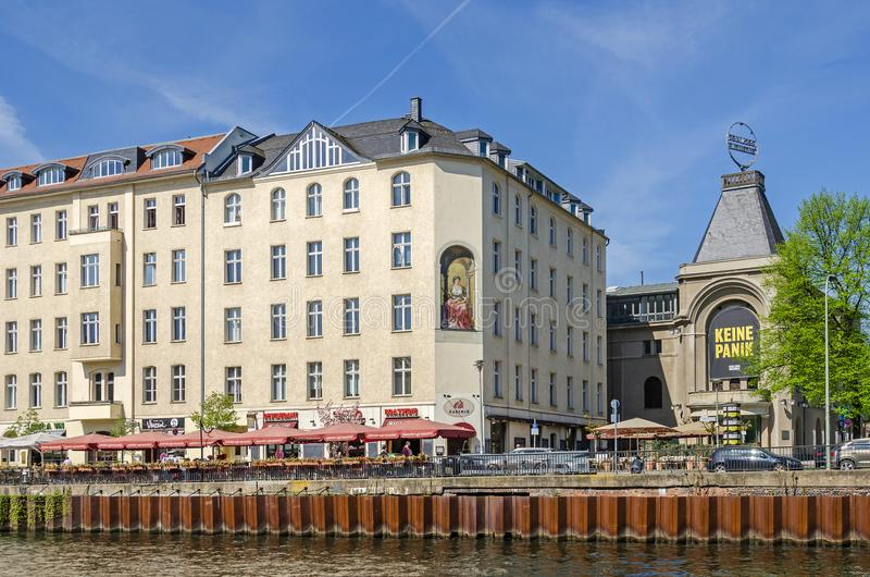Berliner Ensemble e os sutiãs conhecidos de Ganymed do lugar imagem de stock royalty free