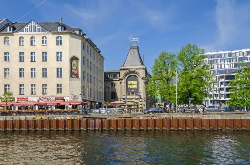 Berliner Ensemble e os sutiãs conhecidos de Ganymed do lugar imagens de stock royalty free