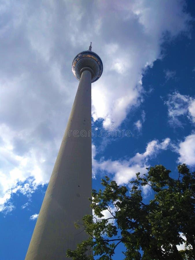 Berliner fernsehturm royalty-vrije stock afbeelding