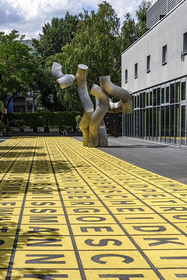 Berlinischer画廊01,柏林07 2018年 库存照片