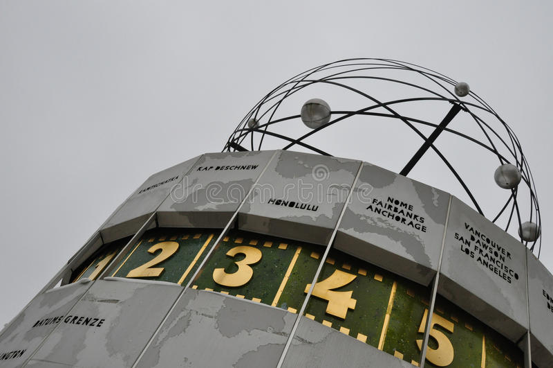Berlino Alexanderplatz immagine stock libera da diritti