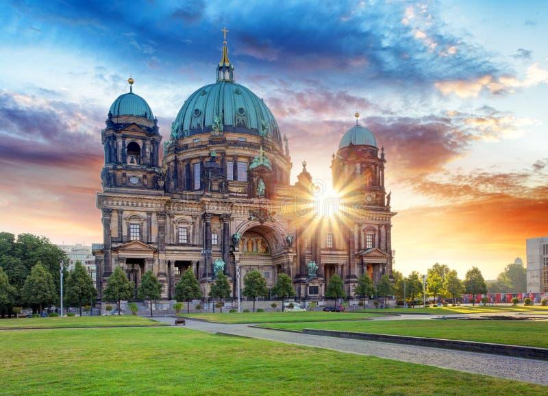 Berlino, DOM del berlinese fotografie stock