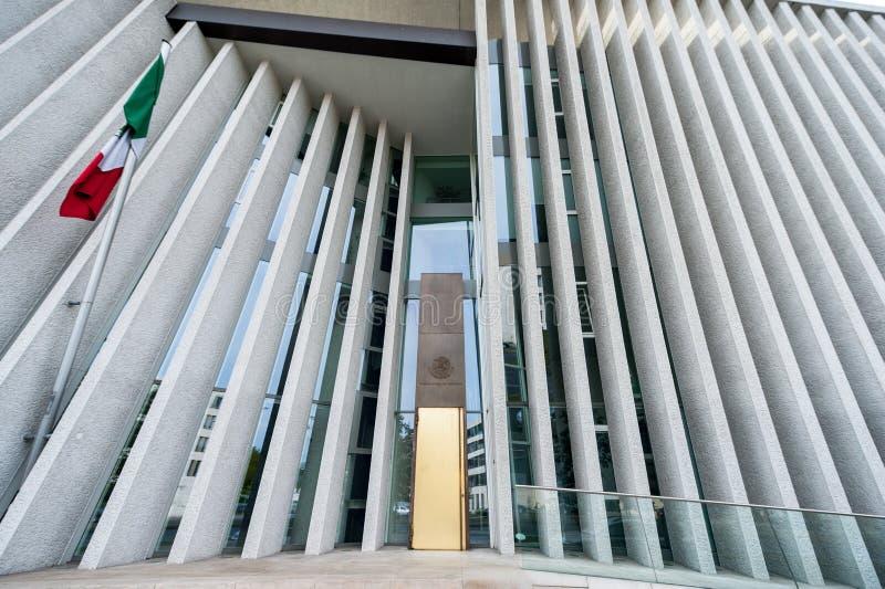 BERLINO, GERMANIA - 25 SETTEMBRE 2012: Ambasciata del Messico a Berlino, Germania immagini stock libere da diritti