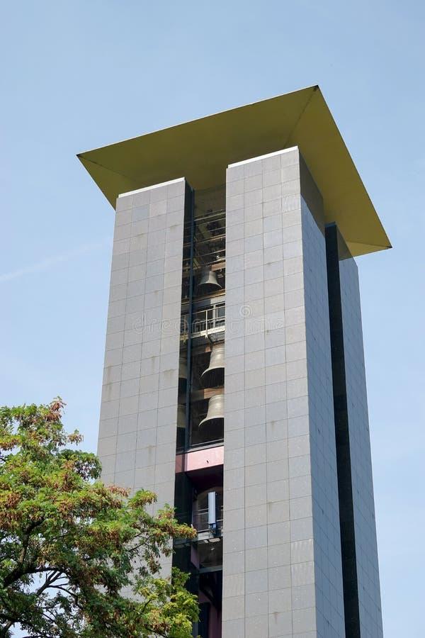 BERLINO, GERMANY/EUROPE - 15 SETTEMBRE: L'Istituto centrale di statistica di concerto del carillon immagine stock libera da diritti