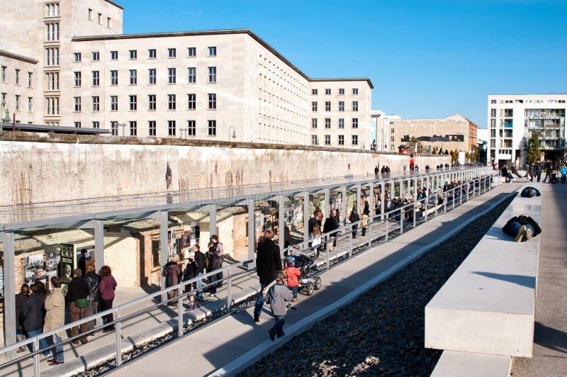Berlino, la parete fotografia stock