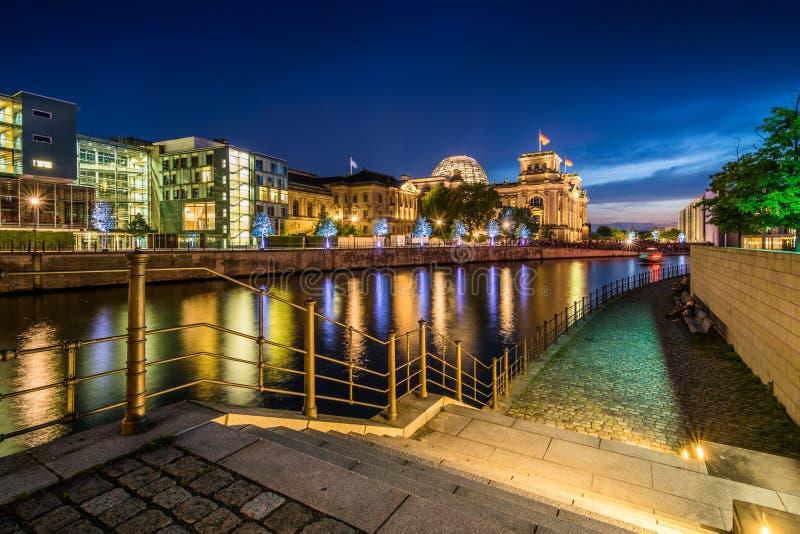 Berlino Reichstag fotografie stock libere da diritti