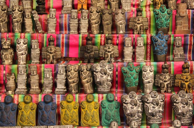 Berlock för bra lycka i Bolivia royaltyfri foto