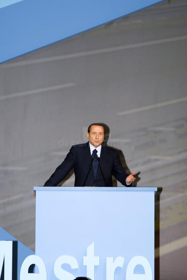 Berlusconi primo immagini stock libere da diritti