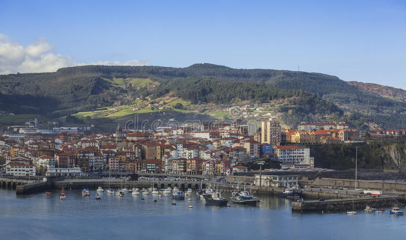 Bermeo View Royalty Free Stock Photography