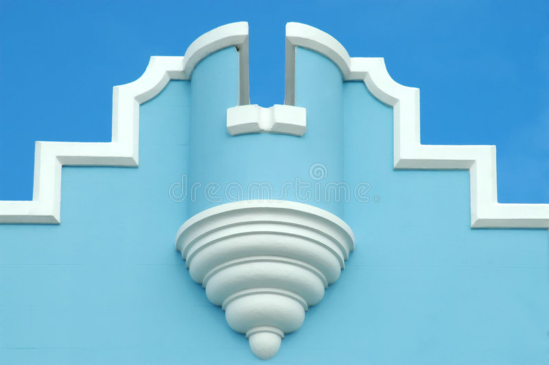 Bermuda Architecture stock image