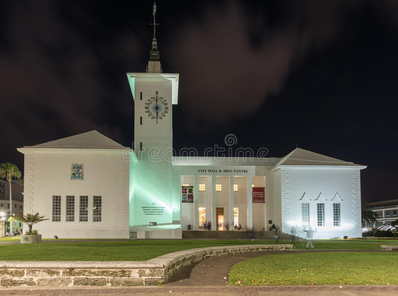 Bermuda City Hall royalty free stock photography