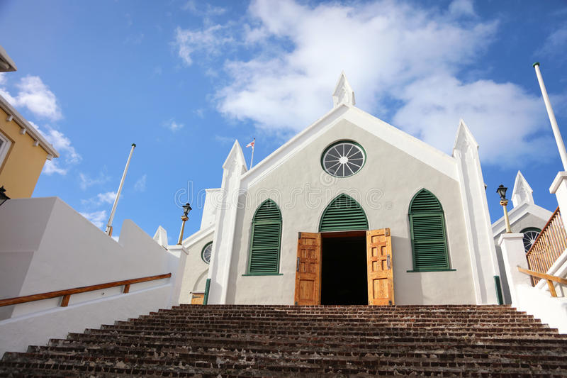 Bermuda City View stock image