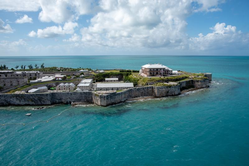Bermuda fästning fotografering för bildbyråer