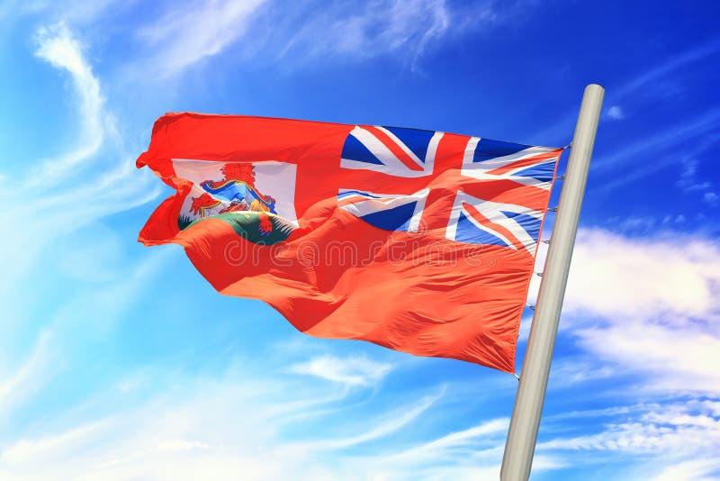 Bermuda flag royalty free stock photos