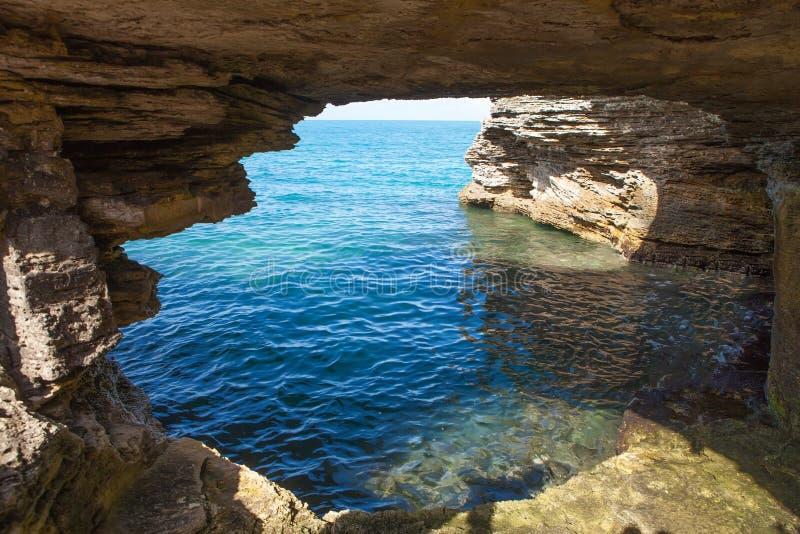 Bermuda-Höhlen-Bildung lizenzfreie stockfotografie