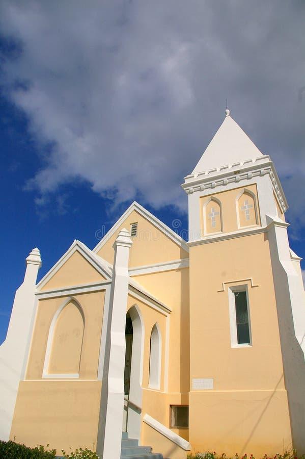 Bermuda-Kirche stockfotografie