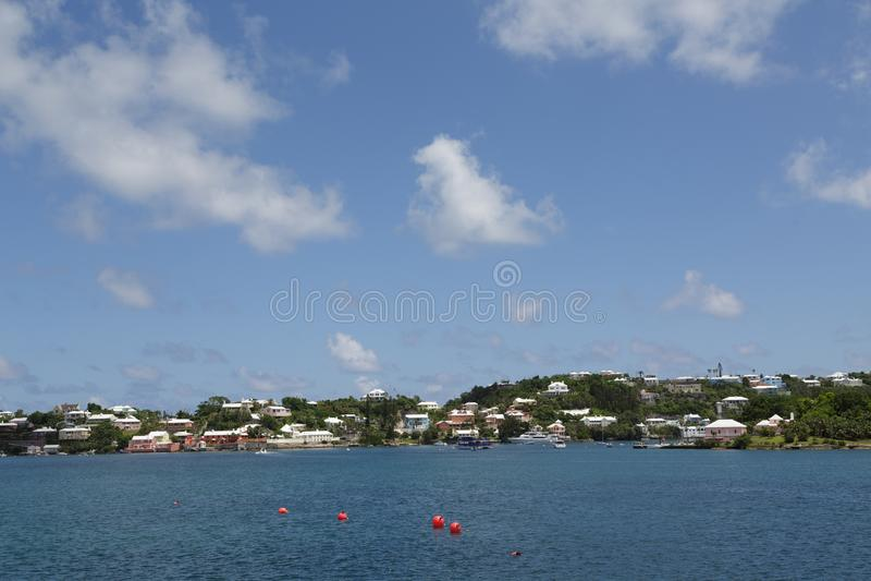 Bermuda kust- hem fotografering för bildbyråer